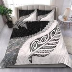Paua Shell Maori Silver Fern Bedding Set K5 - rugbylife.co