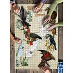 New Zealand Native Birds Poster Puzzle K5 - 1st New Zealand