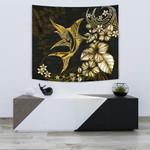 Marlin Polynesian Tapestry Hibiscus Polynesian Yellow TH5 - 1st New Zealand