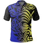 Aotearoa Polo Shirt Ta Moko Koru TH5 - 1st New Zealand