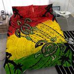 Polynesian Turtle Reggae Bedding Set K5 - rugbylife.co