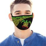 Polynesian Mouth Mask Turtle 3 Rasta TH5 - 1st New Zealand