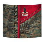 Anzac New Zealand Tapestry Lest We Forget Camo - Road to Peace K4 - 1st New Zealand