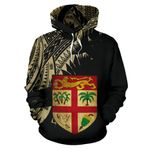 Fiji Coat Of Arms Special All Over Hoodie