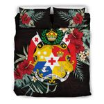 Tonga Hibiscus Coat of Arms Bedding Set   Home Set   Love The World