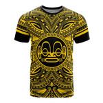 Marquesas Islands All T-Shirt - Marquesas Islands Coat Of Arms Polynesian Gold Black Bn10