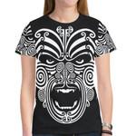 New Zealand Shirt, The Maori Moko Warface Tattoo T-Shirt K5 Merchize