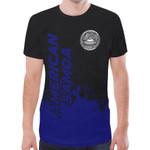 American Samoa T-shirt - Smudge Style - BN1510