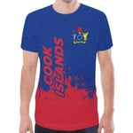 Cook islands T-shirt - Smudge Style - BN1510