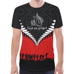 New Zealand Anzac Shirt, Lest We Forget Remembrance Day T-Shirt K4