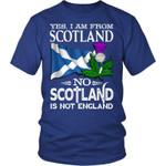 SCOTLAND IS NOT ENGLAND T-SHIRT A9