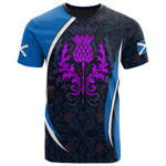 Scotland T-shirt - Scotland Spirit (Thistle) - BN15