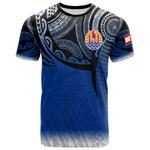Tahiti Polynesian T-Shirt - Tattoo Pattern - BN12