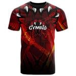 Wales All Over T-Shirt - Welsh Dragon - BN12