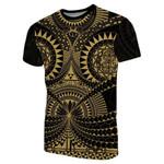 Polynesian Tattoo T-Shirt Gold TH4