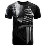 Scotland T-shirt - Scottish Lion Armor - BN1418