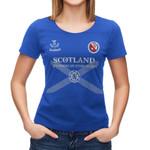 Scotland T-shirt - Allen Scottish Family A9