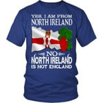 NORTH IRELAND IS NOT ENGLAND T-SHIRT A9