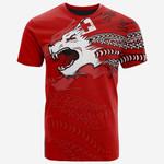Tonga Polynesian T-Shirt - Tongan Pride Lion - Bn39