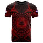 American Samoa Polynesian T-shirt - Red Seal - BN18
