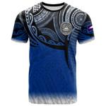 American Samoa Polynesian T-Shirt - Tattoo Pattern - BN12