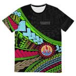Tahiti T-Shirt Polynesian - Garish Style TH5