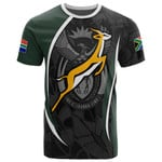 South Africa T-Shirt - South African Spirit (White) - BN15