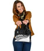 New Zealand Shoulder Handbag Silver Fern Kiwi | Love The World