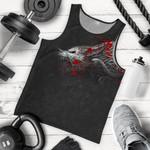 Vikings Men's Tank Top Fenrir Blood A27