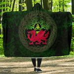 Wales Celtic Hooded Blankets - Tree Of Life & Cymru - BN22