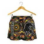 Penrith Women Shorts Panthers Indigenous Vibes A7