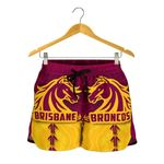 Broncos Women Shorts Brisbane Aboriginal A7