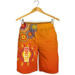 Naidoc Suns Men Shorts Gold Coast Indigenous Style A7