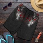 Vikings Fenrir Blood All Over Print Men's Shorts