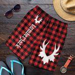 Canada Men's Shorts - Canada Day 2021 Lumberjack Buffalo Plaid