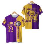 Omega Psi Phi Bull Dogs Sport  T-Shirt A31
