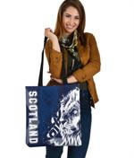 Scotland Celtic Tote Bags , Cross Celt Lion