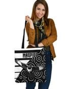 Western Suburbs Magpies Tote Bag Simple Indigenous