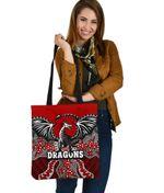 Dragons Tote Bag St. George Aboriginal