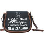 I Just Need To Go To New Zealand SADDLE BAG