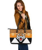 Tigers Leather Tote Wests Indigenous Newest A7