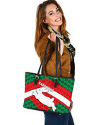 Rabbitohs Leather Tote Sporty Style A7