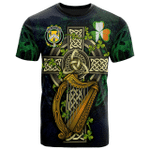 1sttheworld Ireland T-Shirt - House of O'REGAN Irish Family Crest and Celtic Cross A7
