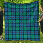 1sttheworld Premium Quilt - Flower Of Scotland Tartan Quilt A7
