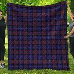1sttheworld Premium Quilt - Pride of Scotland Tartan Quilt A7