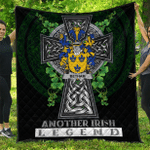 1sttheworld Premium Quilt - Betham Irish Family Crest Quilt - Irish Legend A7