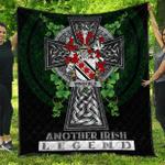 1sttheworld Premium Quilt - Wingfield Irish Family Crest Quilt - Irish Legend A7