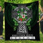 1sttheworld Premium Quilt - Conroy or O'Conry Irish Family Crest Quilt - Irish Legend A7