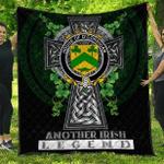1sttheworld Premium Quilt - House of O'CORRIGAN Irish Family Crest Quilt - Irish Legend A7
