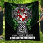1sttheworld Premium Quilt - Tuite Irish Family Crest Quilt - Irish Legend A7